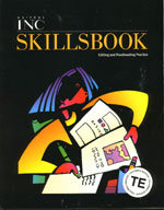 Writer's INC - SkillsBook - Teacher's Edition - Level 11 (copyright 01)