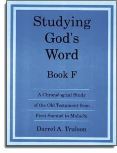Studying God's Word - Book F