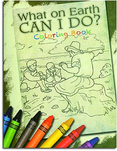 What on Earth Can I Do? Coloring Book