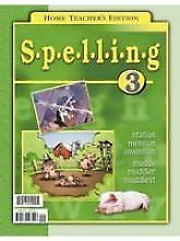 Spelling 3 - Teacher's Edition (first edition)