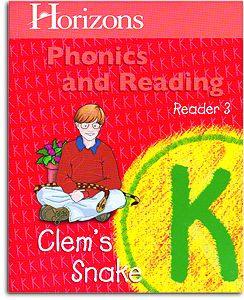 Clem's Snake -Horizon's K Phonics Reader 3