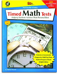 Timed Math Tests - Multiplication/Division