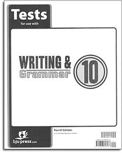 Writing and Grammar 10 Tests (English 10)