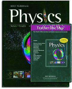Holt McDougal Physics Set
