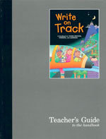 Write on Track - Teacher's Guide to the Handbook (copyright 02)