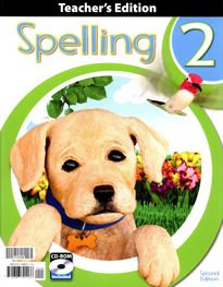 Spelling 2 - Home Teacher's Edition woth CD