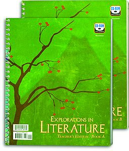 Explorations in Literature - Home Teacher's Edition Set