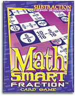 MathSmart Game - Fraction Subtraction - Common Denominator