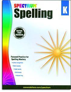 Spectrum Spelling - Kindergarten