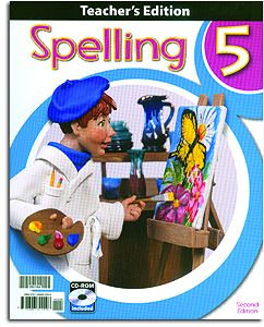Spelling 5 Home Teacher's Edition with CD