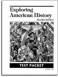 Exploring American History - Tests