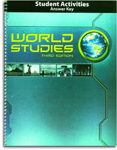 World Studies - Student  Activities Answer Key