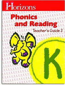 Horizons K Phonics and Reading -Teacher Handbook 3