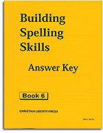 Building Spelling Skills - Book 6 - Answer Key