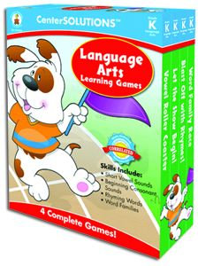 Language Arts Learning Games - Gr. K (green)