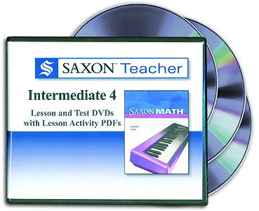 Saxon Teacher  - Math 4 Intermediate DVD
