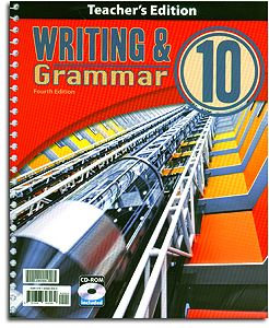 Writing and Grammar 10 Home Teacher's Edition with CD (English 10)