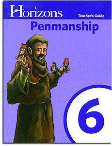 Horizons Penmanship 6 - Teacher Handbook - Cursive