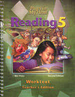 Reading 5 - Worktext Teacher's Edition
