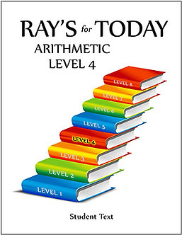 Ray's for Today Arithmetic Level 4 Student Book