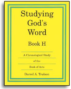 Studying God's Word - Book H