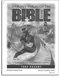 Wisdom and Prophetic Books Tests - Book 2 - Journey through the Bible