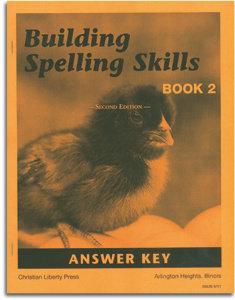 Building Spelling Skills - Book 2 - Answer Key