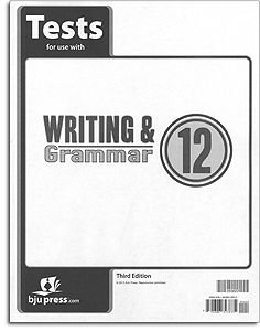 Writing and Grammar 12 Tests (English 12)