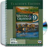 Writing & Grammar 9 Home Teacher's Edition (English 9)