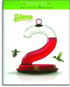 Science 2 Activity Manual Answer Key