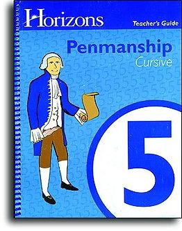 Horizons Penmanship 5 - Teacher Handbook - Cursive