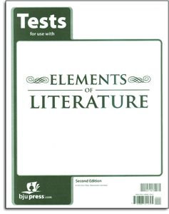 Elements of Literature - Tests