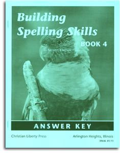 Building Spelling Skills - Book 4 - Answer Key