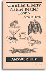 Christian Liberty Nature Reader - Book 5 - Answer Key