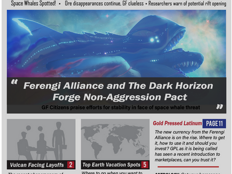 Ferengi Alliance and Dark Horizon announce Non-Aggression Pact