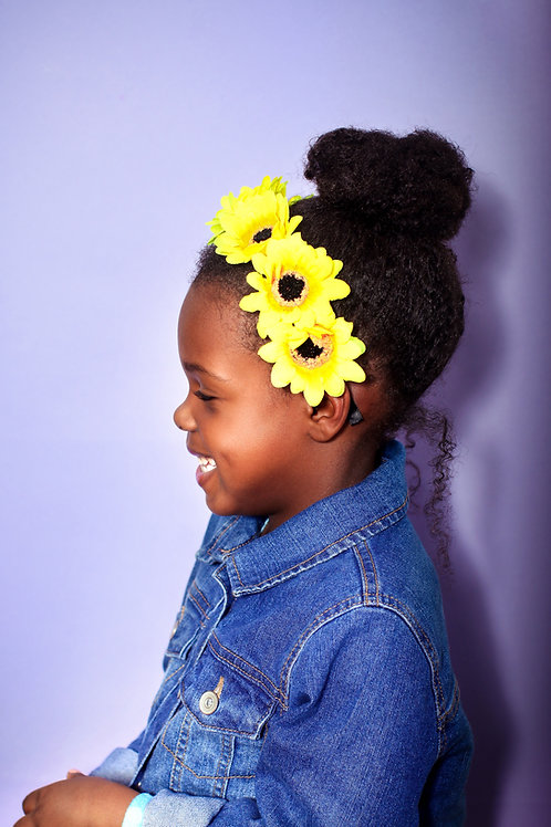 Sienna's Signature Sunflower Headband