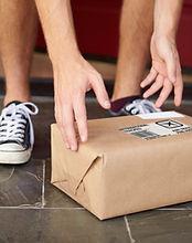 Förpackning levererad