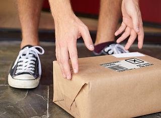 Paket geliefert