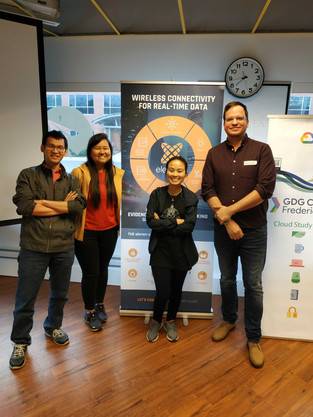 Best Minimum Viable Products Award from Fred E-hack Smart City Hackathon