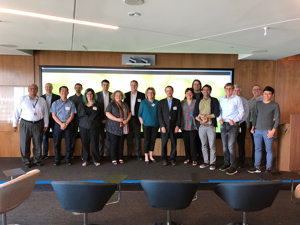 The Cisco's inaugural Research Chair Summit was hosted at the Canadian Headquarters in Toronto on June 26  It was a great opportunity to meet the Cisco Chairs and senior Cisco Engineers and to share the results of our research.