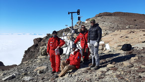 Long-term monitoring of the climatic parameters of air, rock and soil in Antarctica