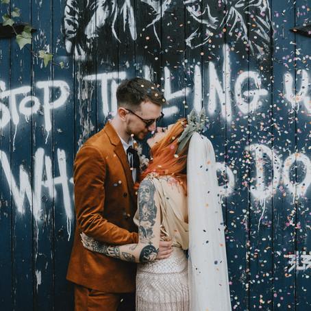 Alternative Sheffield Wedding