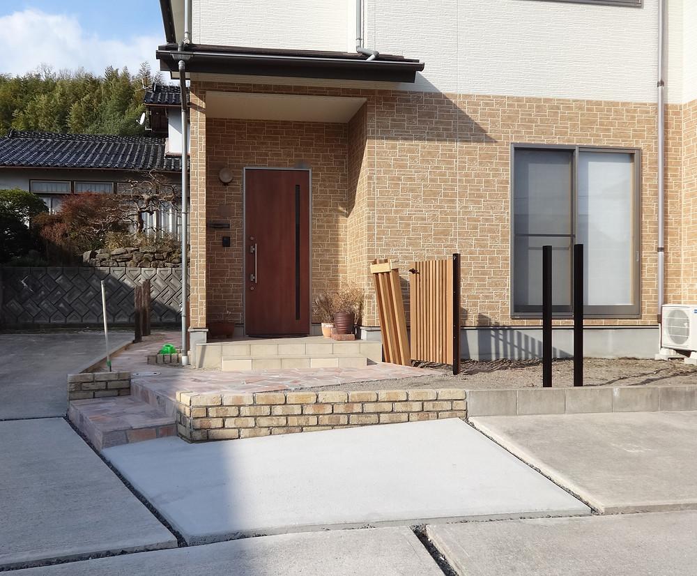 松江市 K邸 DIYコラボ その1