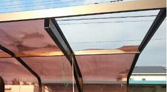 ポリカーボネート板屋根 壊れる