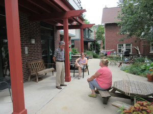 Community members of Village Cohousing
