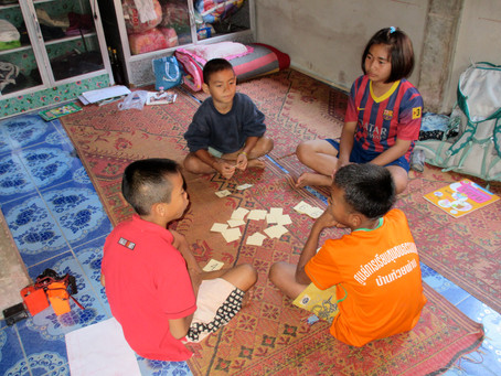 Community living, Thai-style:  a place for kids