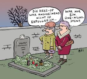 Tod und lachen