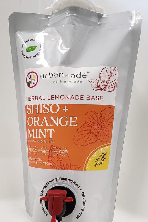 Shiso + Orange Mint, 1.5 Liter Frozen Pouch- SS
