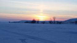 Nelson Reservoir Sunset