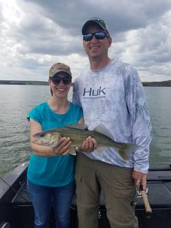 Fort Peck walleye